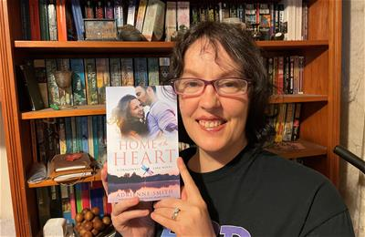 Home is where the heart is for award-winning author
